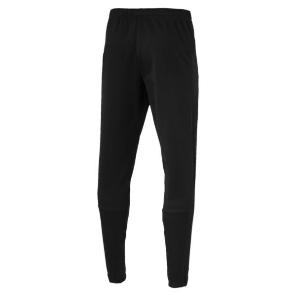 AC Milan Men's Casual Performance Sweatpants, Puma Black-Puma White, large