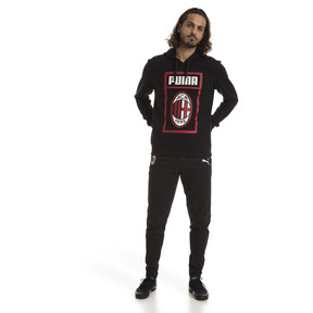 Thumbnail 3 of AC Milan Men's Casual Performance Sweatpants, Puma Black-Puma White, medium