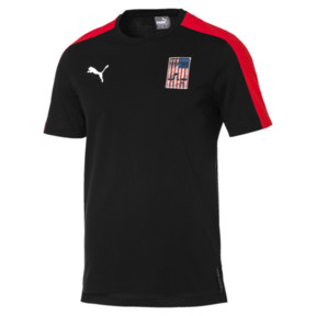 Thumbnail 3 of Copa America Men's T7 Tee, Puma Black-USA, medium
