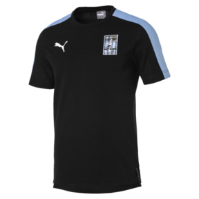 Thumbnail 3 of Copa America Men's T7 Tee, Puma Black-Uruguay, medium