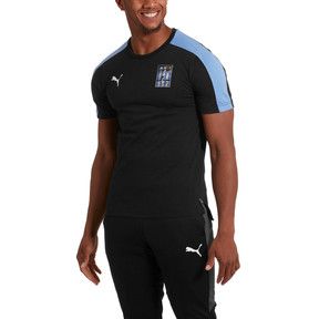 Thumbnail 1 of Copa America Men's T7 Tee, Puma Black-Uruguay, medium
