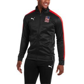 Thumbnail 1 of Copa America Men's T7 Track Jacket, Puma Black-Puma Red, medium