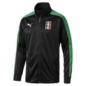 Thumbnail 2 of Copa America Men's T7 Track Jacket, Puma Black-Amazon Green, medium