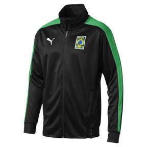 Thumbnail 2 of Copa America Men's T7 Track Jacket, Puma Black-Kelly Green, medium