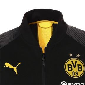 Thumbnail 6 of BVB スタジアム ポリ ジャケット, Puma Black, medium-JPN