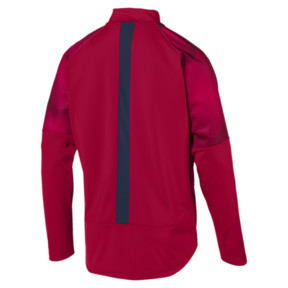 Thumbnail 5 of Arsenal FC Men's Stadium Jacket, Chili Pepper-Peacoat, medium