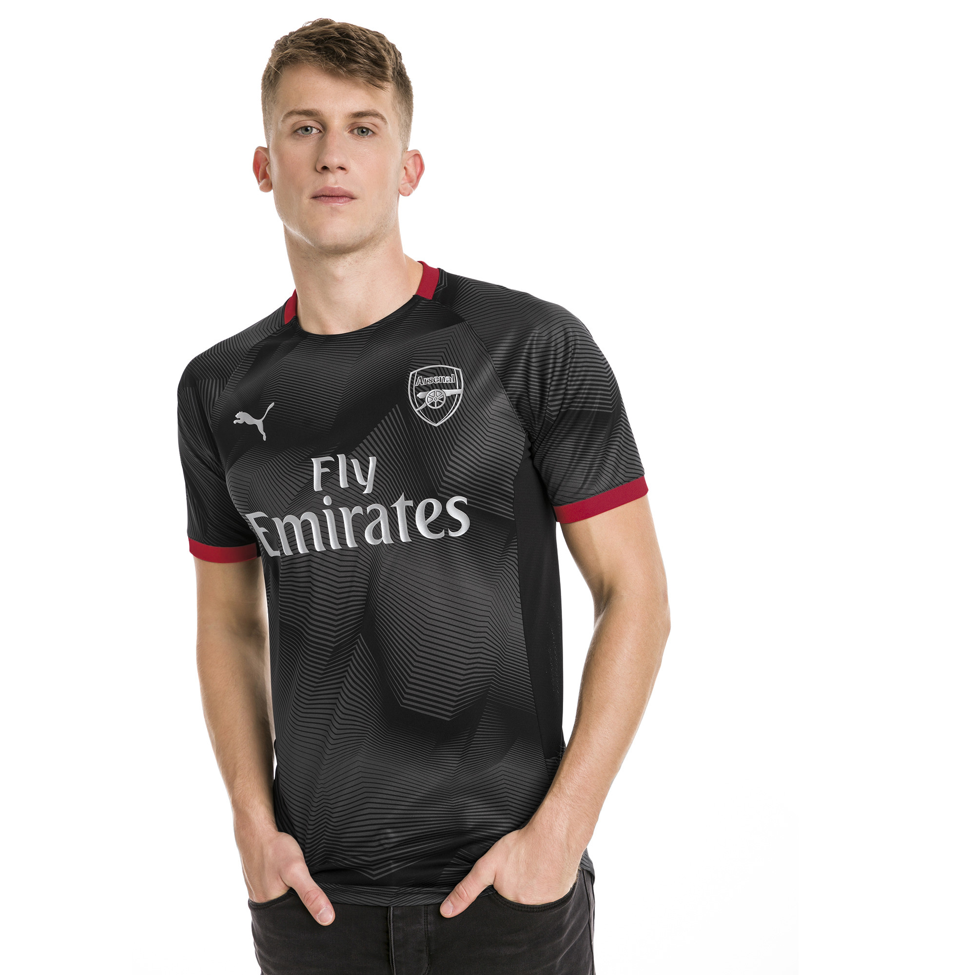 f1f4660810a Image Puma Arsenal FC Men s Graphic Jersey  1