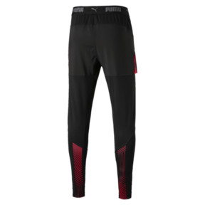 Thumbnail 2 of AFC Stadium Pro Men's Football Pants, Puma Black-Chili Pepper, medium