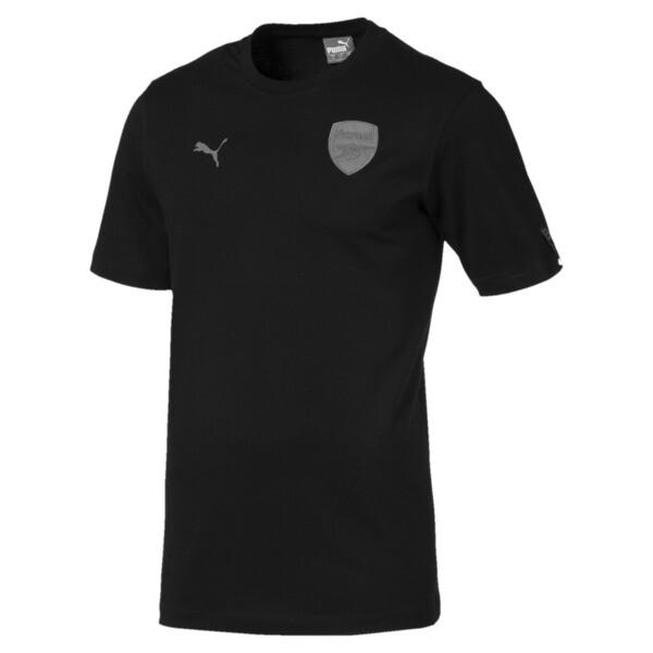AFC Short Sleeve Men's Football Tee, Puma Black, large