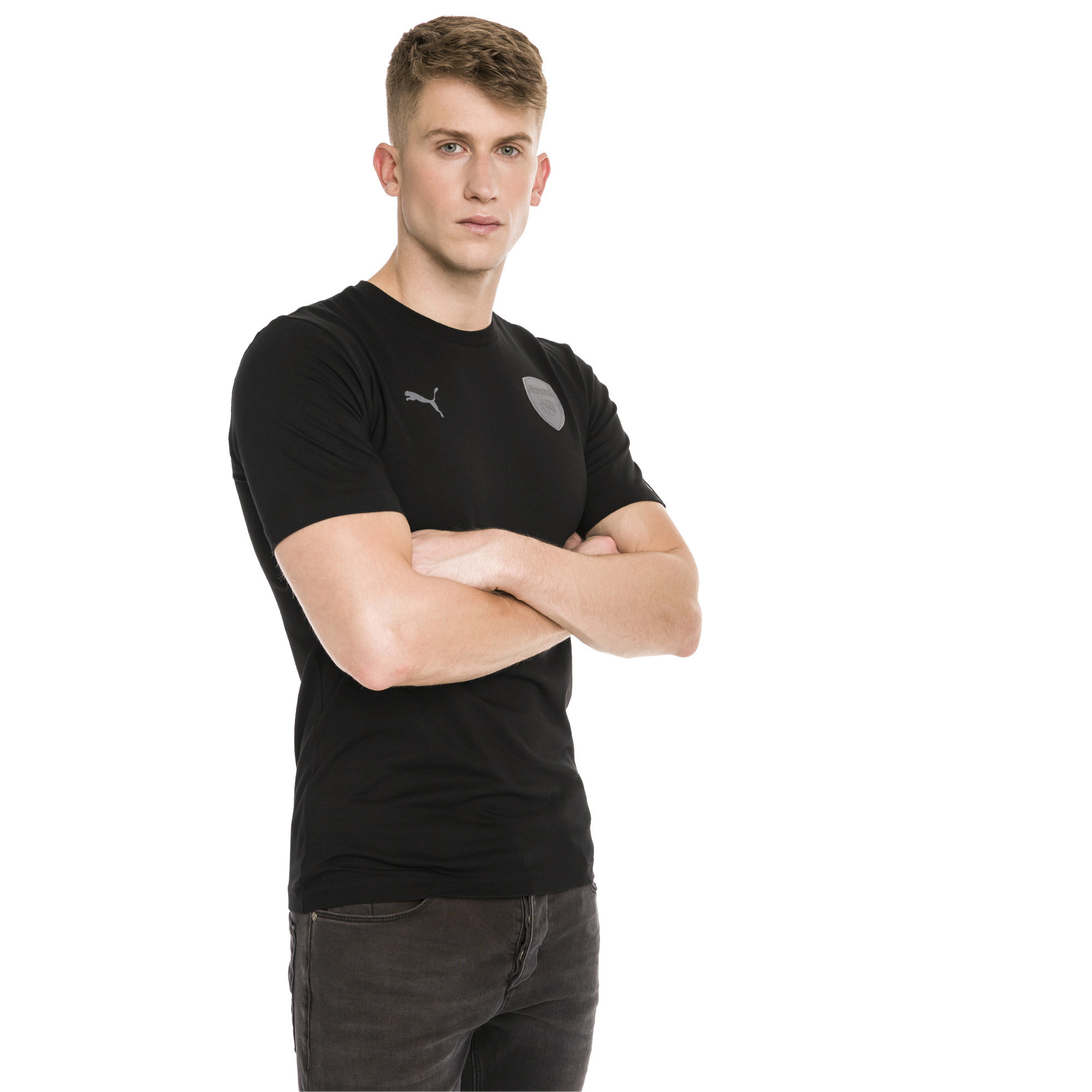 Image Puma AFC Short Sleeve Men's Football Tee #1
