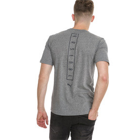 Thumbnail 2 of AFC Short Sleeve Men's Football Tee, Medium Gray Heather, medium