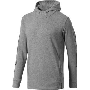 Thumbnail 1 of Olympique de Marseille Fan Slogan Men's Hoodie, Medium Gray Heather, medium