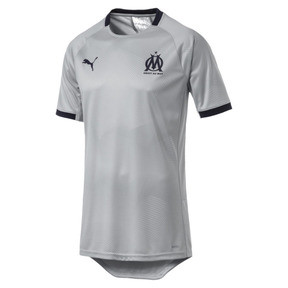 Thumbnail 1 of Olympique de Marseille Men's Graphic Jersey, High Rise-Peacoat, medium
