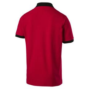 Thumbnail 5 of AC Milan Men's Badge Polo, Tango Red-Puma Black, medium