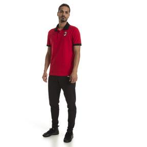 Thumbnail 3 of AC Milan Herren Wappen Polo, Tango Red-Puma Black, medium
