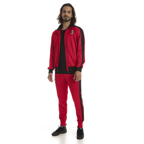Thumbnail 3 of AC Milan Men's T7 Track Jacket, Tango Red-Puma Black, medium
