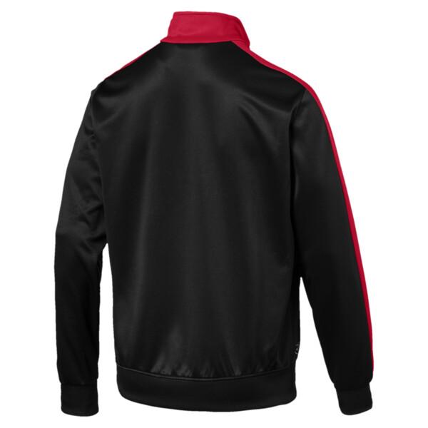 AC Milan Herren T7 Trainingsjacke, Puma Black-Tango Red, large