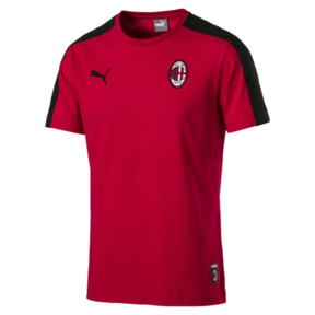 Thumbnail 4 of AC Milan Herren T7 T-Shirt, Tango Red-Puma Black, medium