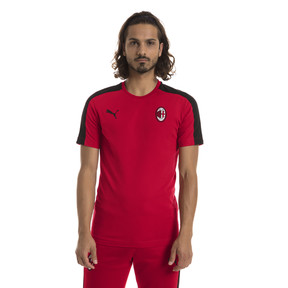 Thumbnail 1 of AC Milan Herren T7 T-Shirt, Tango Red-Puma Black, medium