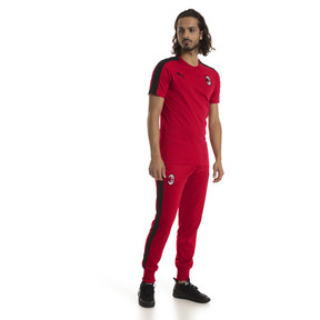 Thumbnail 3 of AC Milan Herren T7 T-Shirt, Tango Red-Puma Black, medium