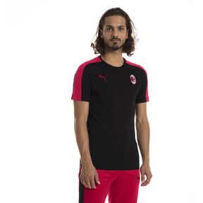 Thumbnail 1 of AC Milan Men's T7 T-Shirt, Puma Black-Tango Red, medium
