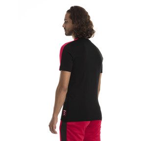 Thumbnail 2 of AC Milan Men's T7 T-Shirt, Puma Black-Tango Red, medium