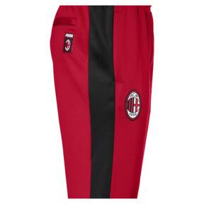 Thumbnail 3 of AC Milan Men's T7 Pants, Tango Red-Puma Black, medium