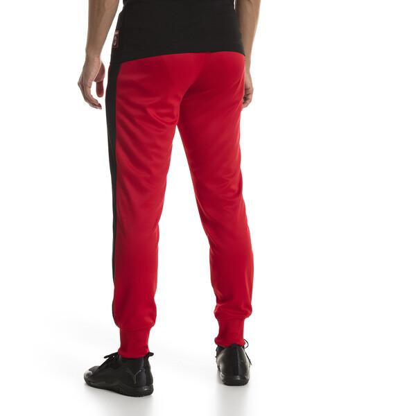 AC Milan Men's T7 Pants, Tango Red-Puma Black, large