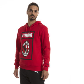 Thumbnail 1 of AC Milan Herren Shoe Tag Hoodie, Tango Red, medium
