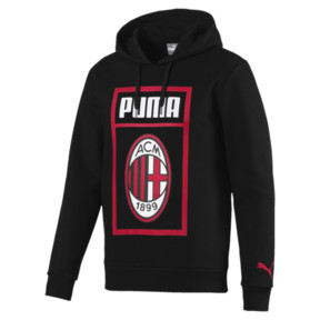 Thumbnail 4 of Sweat à capuche AC Milan Shoe Tag pour homme, Puma Black, medium