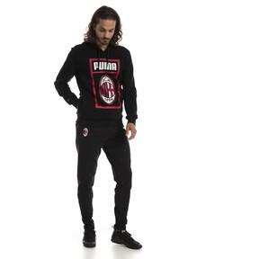 Thumbnail 3 of AC Milan Herren Shoe Tag Hoodie, Puma Black, medium