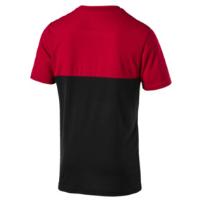 Thumbnail 2 of AC Milan Men's Fan Poly T-Shirt, Tango Red-Puma Black, medium