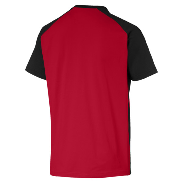 AC Milan Men's Match Fan T-Shirt, -Tango Red-Puma Black, large