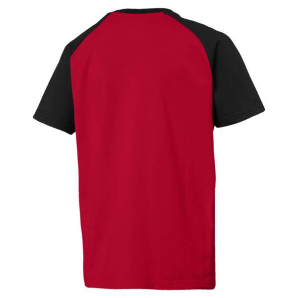 AC Milan Jungen Match Fan T-Shirt, -Tango Red-Puma Black, large