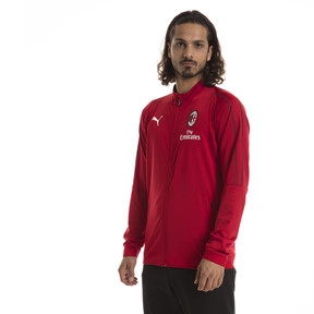 Thumbnail 1 of AC Milan Men's Track Jacket, Chili Pepper-puma white, medium