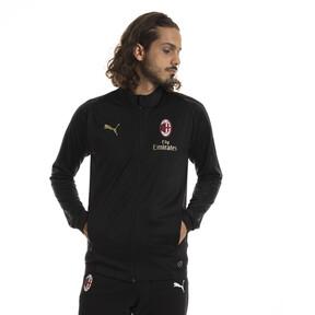 Thumbnail 1 of AC Milan Men's Track Jacket, Puma Black-asphalt, medium