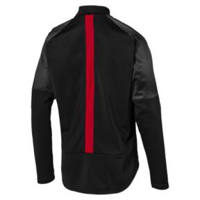 Thumbnail 2 of AC Milan Stadium Men's Poly Jacket, Puma Black-Tango Red, medium