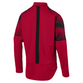 Thumbnail 2 of AC MILAN ポリ ジャケット, Tango Red-Puma Black, medium-JPN