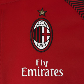 Thumbnail 6 of AC MILAN ポリ ジャケット, Tango Red-Puma Black, medium-JPN