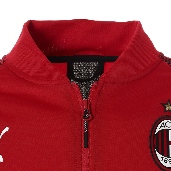 AC MILAN ポリ ジャケット, Tango Red-Puma Black, large-JPN