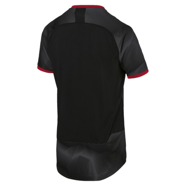 AC Milan Men's Stadium Jersey, Puma Black-Dark Shadow, large