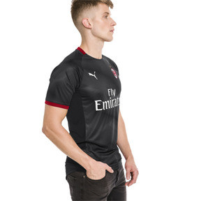 Thumbnail 1 of AC Milan Men's Stadium Jersey, Puma Black-Dark Shadow, medium