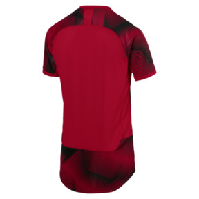 Thumbnail 5 of AC Milan Men's Stadium Jersey, Tango Red-Puma Black, medium