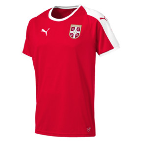 Thumbnail 1 of Serbia Home Shirt, Puma Red-Puma White, medium
