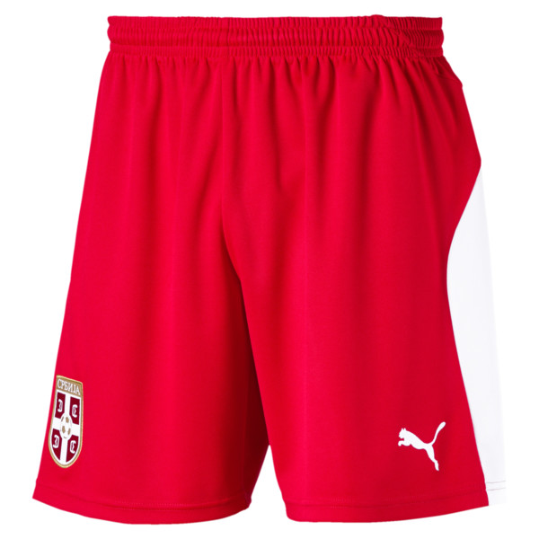 Serbia Home Short, Puma Red-Puma White, large