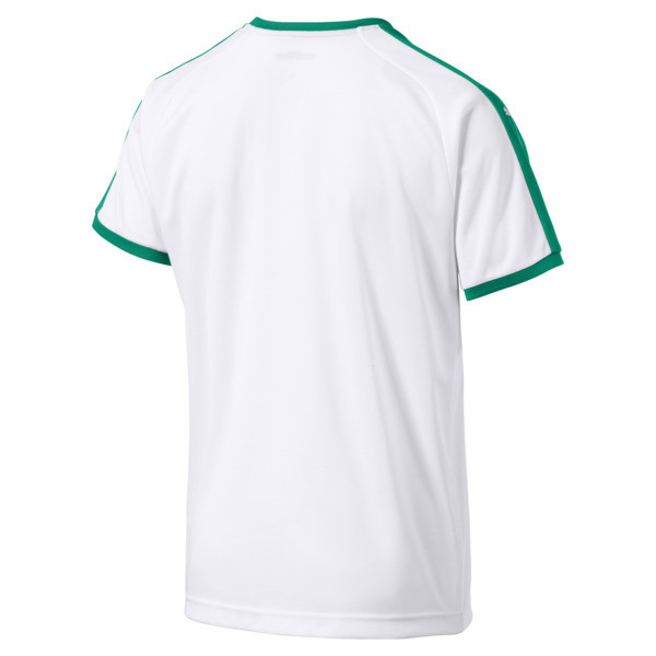 Senegal Home Replica Jersey, Puma White-Pepper Green, large