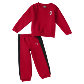 Thumbnail 1 of AC Milan Baby Minicats Jogginganzug-Set, Tango Red, medium