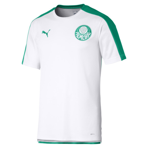 Palmeiras Stadium Tee, Puma White-Pepper Green, large