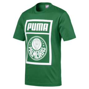 Thumbnail 1 of Palmeiras Men graphic Tee, Amazon Green-Puma White, medium