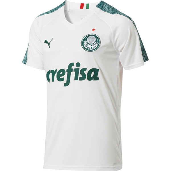 Palmeiras Away Replica Jersey II, Puma White, large